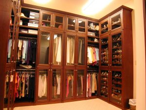 A Brown Custom Organized Closet Custom Closets Alpha Closets & Company Inc, 6084 Gulf Breeze Pkwy, Gulf Breeze, Fl 32563 (850) 934 9130