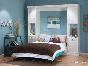 Bed Board Murphy Bed Opened Murphy Beds Alpha Closets & Company Inc, 6084 Gulf Breeze Pkwy, Gulf Breeze, Fl 32563 (850) 934 9130