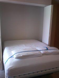 Bed Inside A Murphy Bed Closet Murphy Beds Alpha Closets & Company Inc, 6084 Gulf Breeze Pkwy, Gulf Breeze, Fl 32563 (850) 934 9130