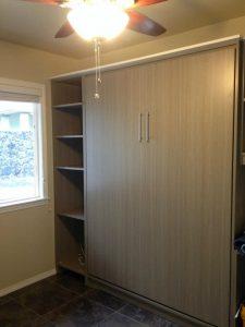 Driftwood Euro Murphy Bed Murphy Beds Alpha Closets & Company Inc, 6084 Gulf Breeze Pkwy, Gulf Breeze, Fl 32563 (850) 934 9130