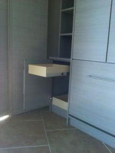 Driftwood Murphy Bed Side Unit Murphy Beds Alpha Closets & Company Inc, 6084 Gulf Breeze Pkwy, Gulf Breeze, Fl 32563 (850) 934 9130