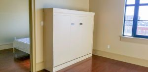 Horizonal Murphy Bed W Block Frame Alpha Closets & Company Inc, 6084 Gulf Breeze Pkwy, Gulf Breeze, Fl 32563 (850) 934 9130