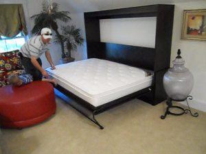 Horizontal Murphy Bed Murphy Beds Alpha Closets & Company Inc, 6084 Gulf Breeze Pkwy, Gulf Breeze, Fl 32563 (850) 934 9130