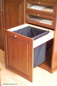 Laundry Bin Inside A Drawer Custom Closets Alpha Closets & Company Inc, 6084 Gulf Breeze Pkwy, Gulf Breeze, Fl 32563 (850) 934 9130