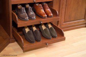 Mens Dress Shoes On A Shelf Custom Closets Alpha Closets Company Inc, 6084 Gulf Breeze Pkwy, Gulf Breeze, Fl 32563 (850) 934 9130