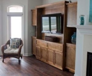 Stained Maple Zoom Room Furniture With Tv In It Murphy Beds Alpha Closets & Company Inc, 6084 Gulf Breeze Pkwy, Gulf Breeze