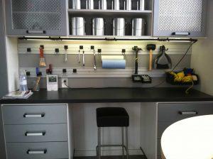 Garage Storage Desk Unit Garage Storage Alpha Closets Company Inc, 6084 Gulf Breeze Pkwy, Gulf Breeze, Fl 32563 (850) 934 9130