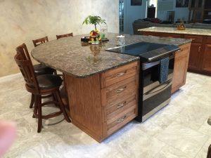 Kitchen Island Kitchen Storage Alpha Closets Company Inc, 6084 Gulf Breeze Pkwy, Gulf Breeze, Fl 32563 (850) 934 9130