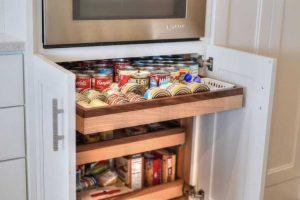 Pull Out Kitchen Storage Custom Kitchen Storage Alpha Closets Company Inc, 6084 Gulf Breeze Pkwy, Gulf Breeze, Fl 32563 (850) 934 9130