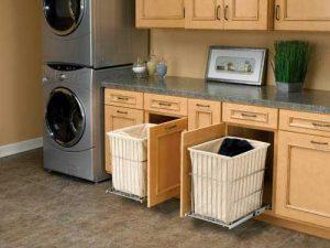 Pull Out Laundry Baskets Custom Laundry Storage Alpha Closets Company Inc, 6084 Gulf Breeze Pkwy, Gulf Breeze, Fl 32563 (850) 934 9130