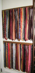 Tie Rack Wall Mount Double Custom Accessories Alpha Closets Company Inc, 6084 Gulf Breeze Pkwy, Gulf Breeze, Fl 32563 (850) 934 9130