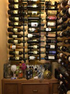 Wine Rack Horrizon To Wall Wine Storage Alpha Closets Company Inc, 6084 Gulf Breeze Pkwy, Gulf Breeze, Fl 32563 (850) 934 9130