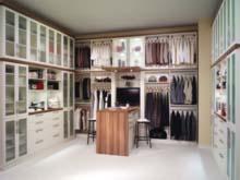 An Organized Closet With Pillars Custom Closets Alpha Closets Company Inc, 6084 Gulf Breeze Pkwy, Gulf Breeze, Fl 32563 (850) 934 9130