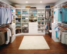 An Organized Master Bedroom Closet Custom Closets Alpha Closets Company Inc, 6084 Gulf Breeze Pkwy, Gulf Breeze, Fl 32563 (850) 934 9130