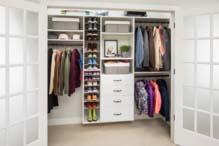 An Organized White Closet Custom Closets Alpha Closets Company Inc, 6084 Gulf Breeze Pkwy, Gulf Breeze, Fl 32563 (850) 934 9130