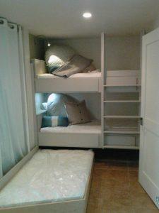 Bunkbed W Trundle Murphy Beds Alpha Closets Company Inc, 6084 Gulf Breeze Pkwy, Gulf Breeze, Fl 32563 (850) 934 9130
