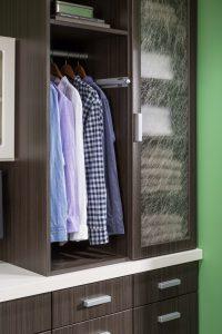 Dress Shirts In A Closet Custom Closets Alpha Closets Company Inc, 6084 Gulf Breeze Pkwy, Gulf Breeze, Fl 32563 (850) 934 9130
